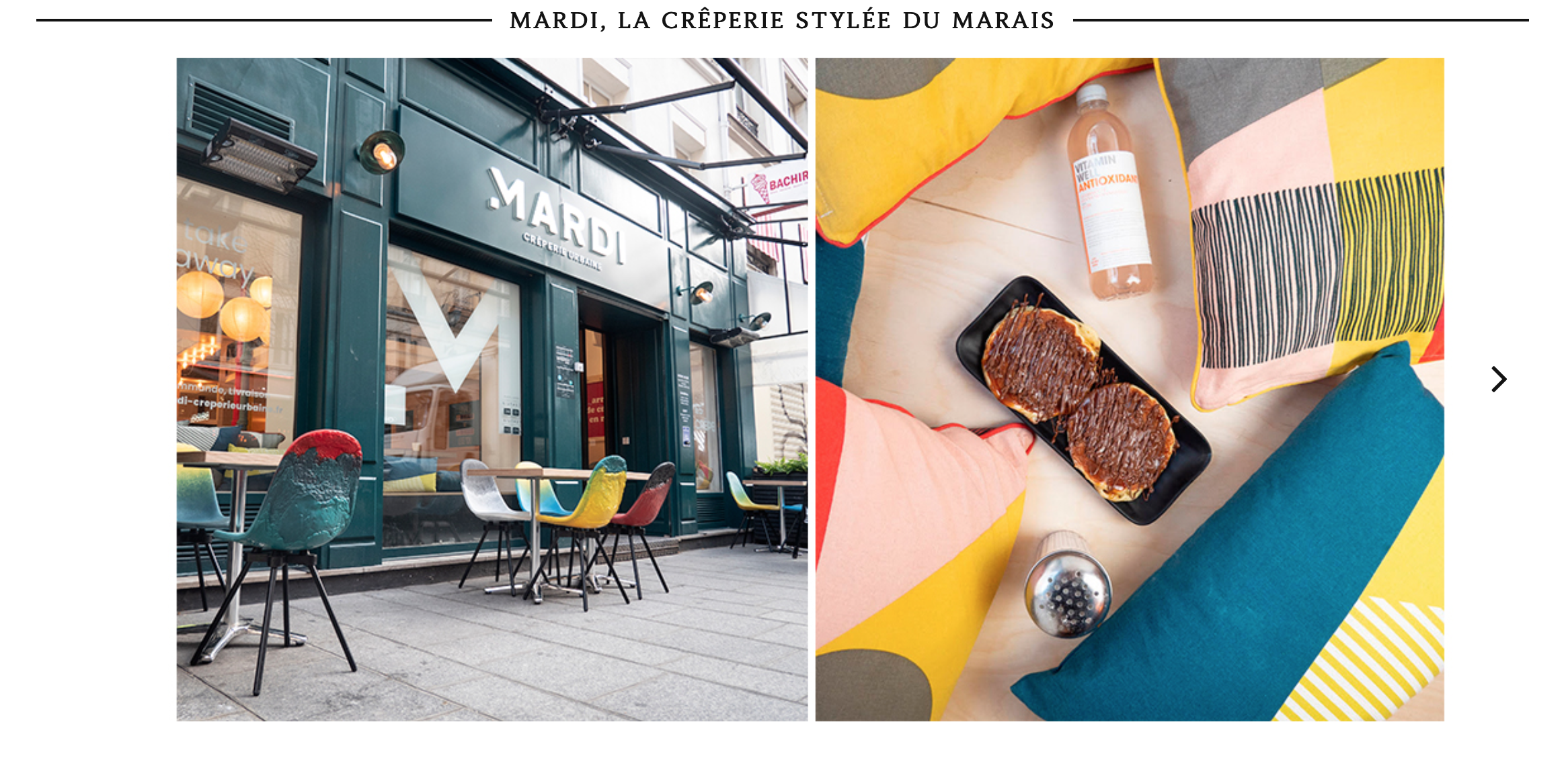 MARDI crêperie urbaine sur do it in Paris